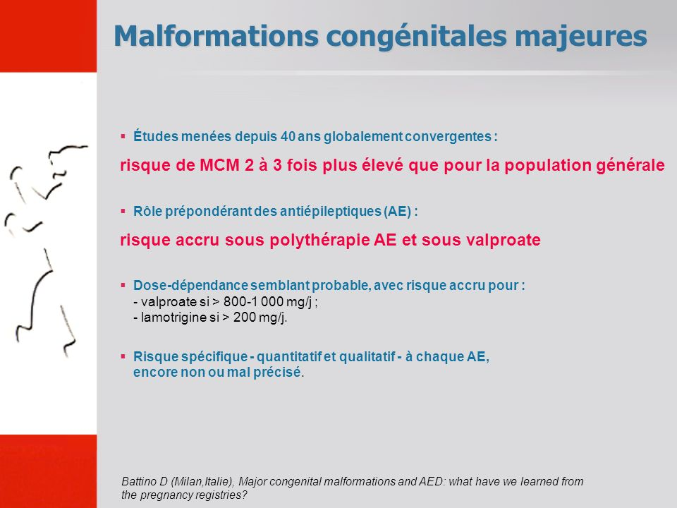 Malformations congénitales majeures
