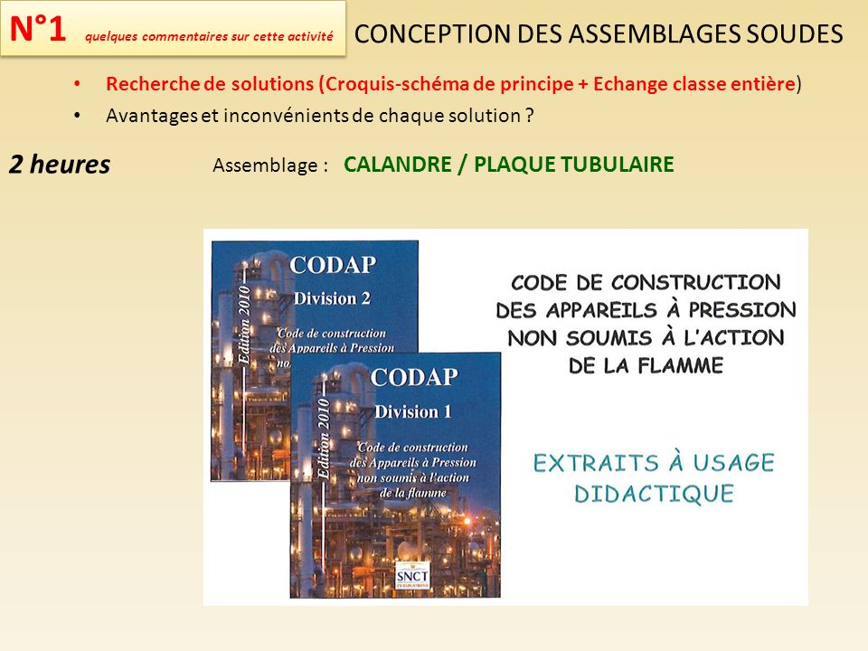 CONCEPTION DES ASSEMBLAGES SOUDES