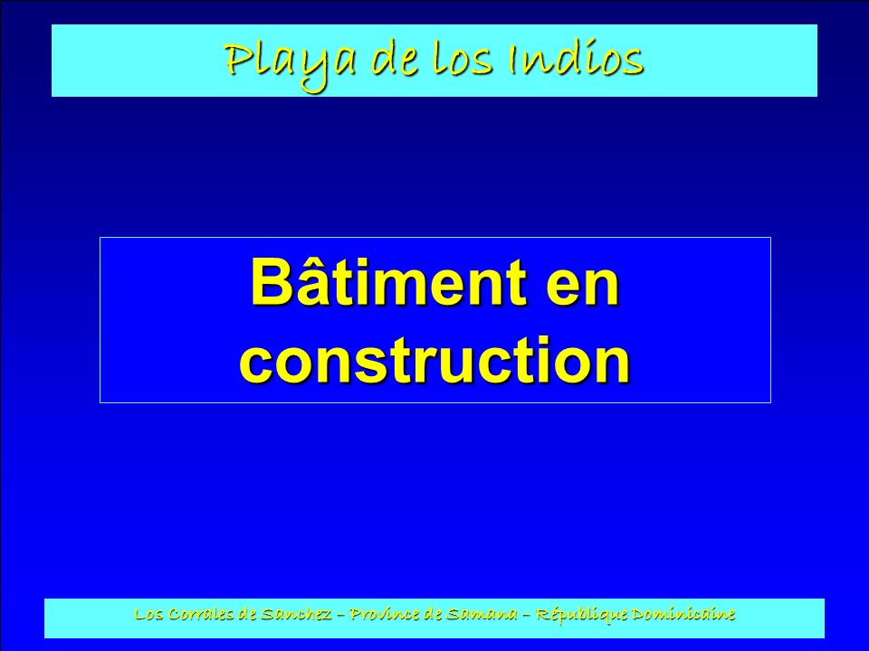 Bâtiment en construction