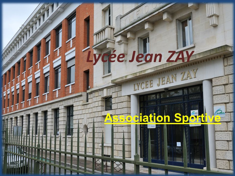 Lycée Jean ZAY Association Sportive