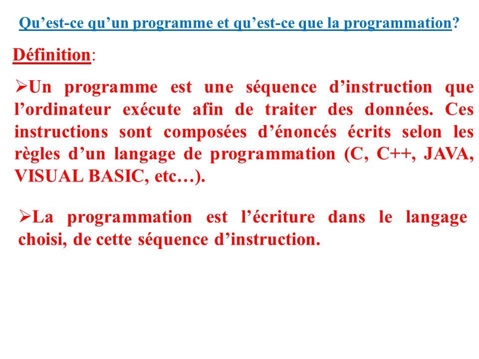 initiation  u00e0 la programmation
