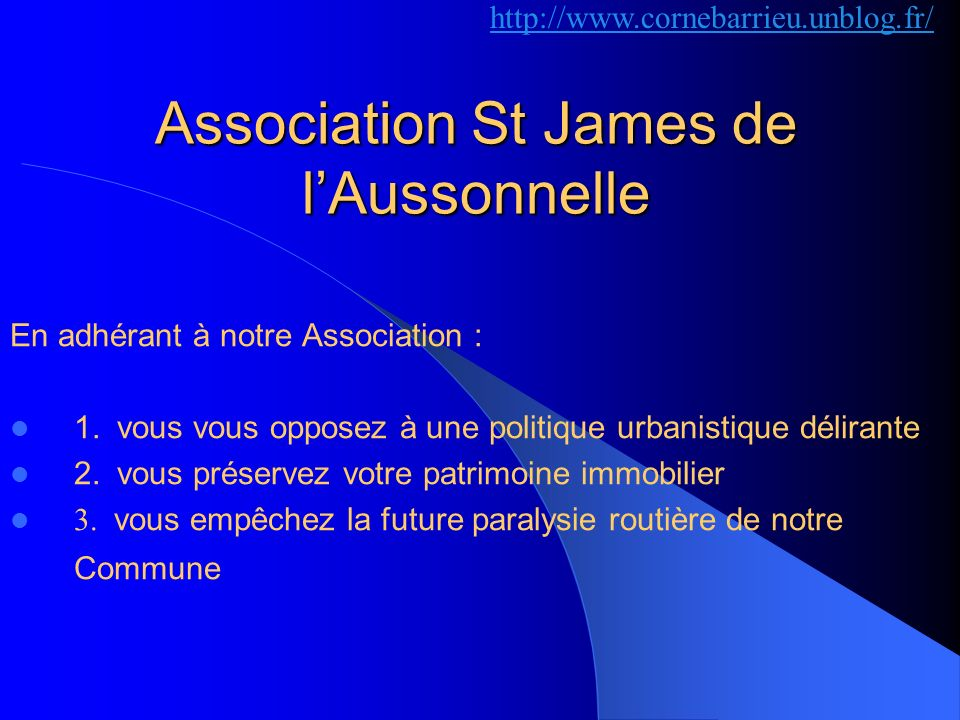 Association St James de l'Aussonnelle