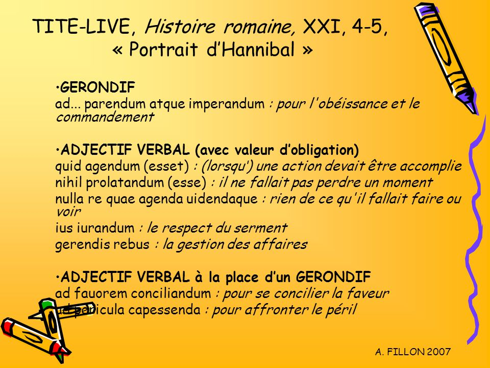 LE GERONDIF & L'ADJECTIF VERBAL - ppt video online télécharger