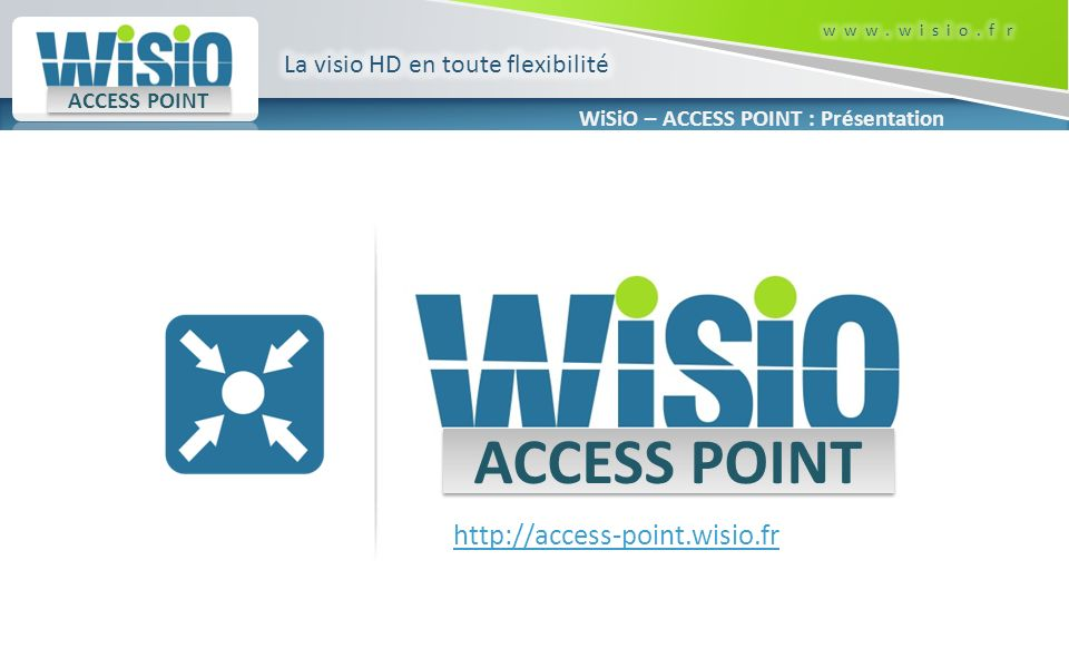 ACCESS POINT http://access-point.wisio.fr