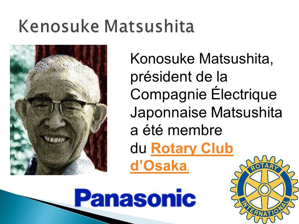 konosuke matsushita enfants