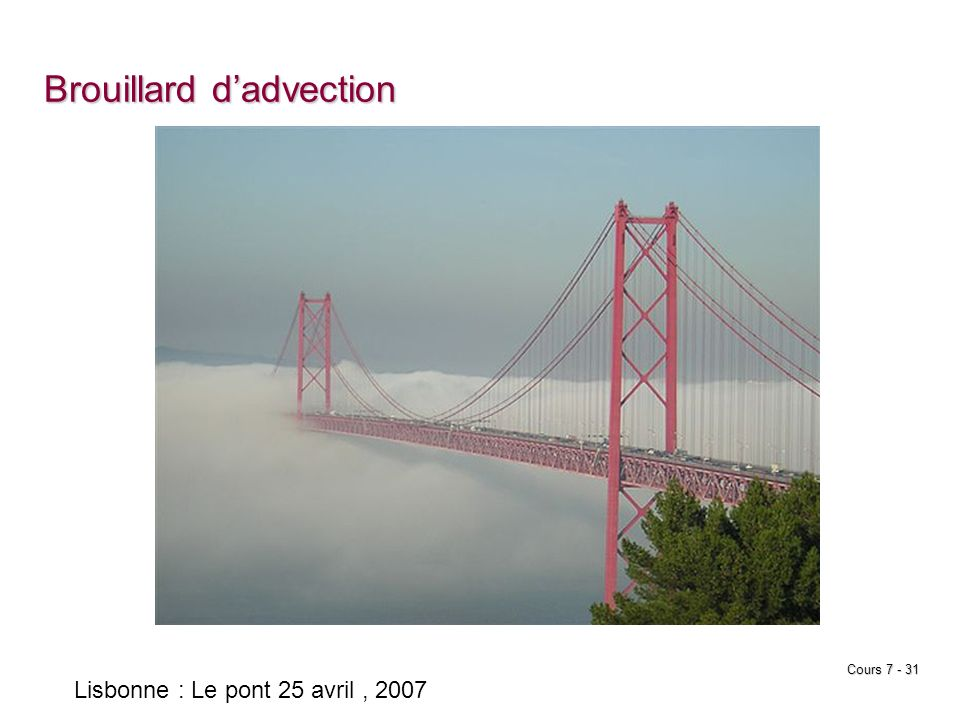 Brouillard d'advection
