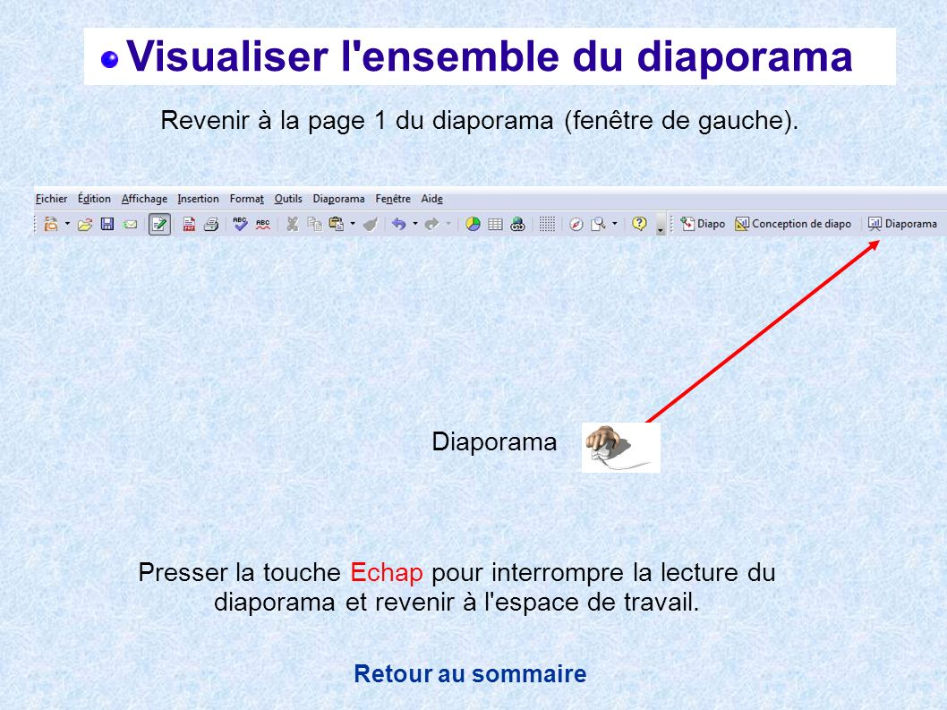 Visualiser l ensemble du diaporama
