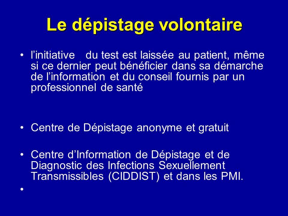 La Prise En Charge Vih Le Test De Dépistage Ppt Video Online