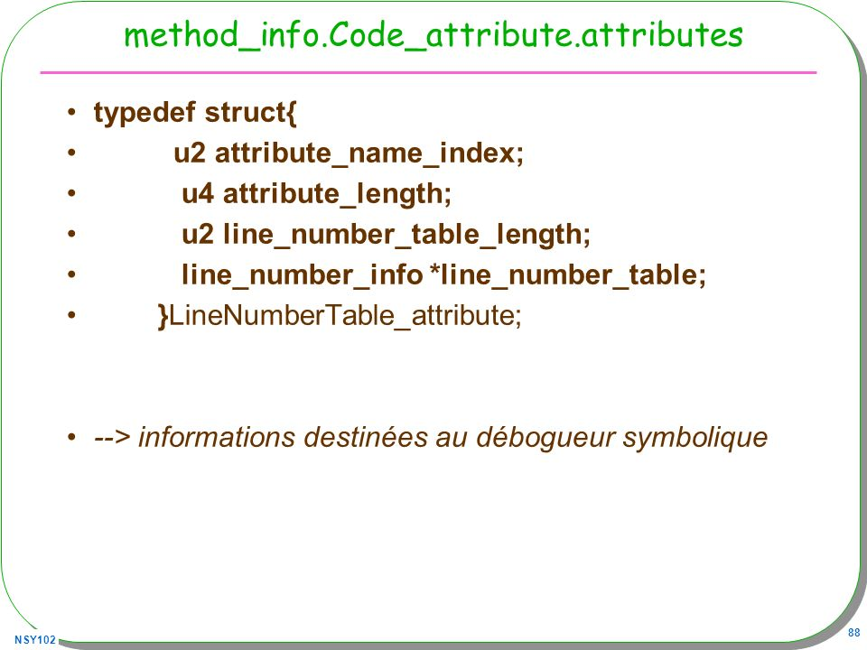 method_info.Code_attribute.attributes
