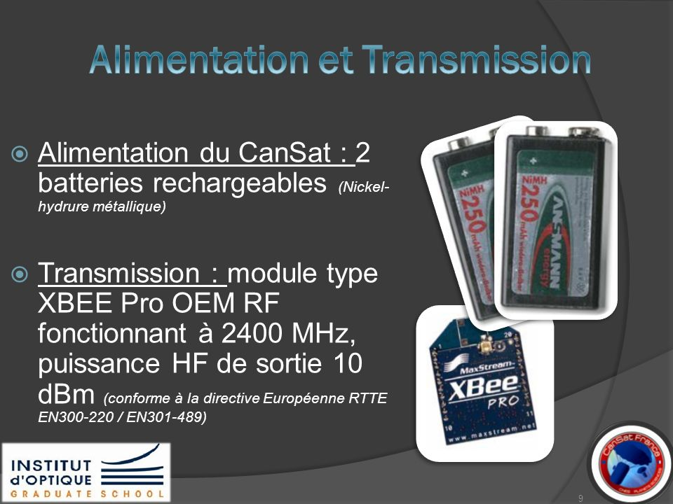 Alimentation et Transmission