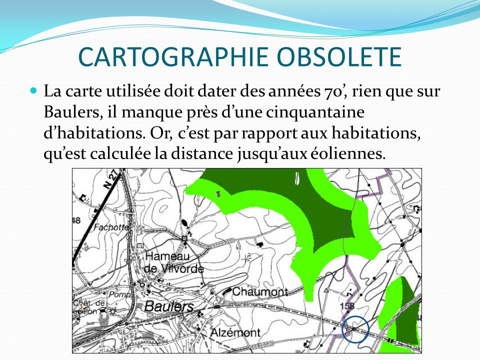 CARTOGRAPHIE OBSOLETE