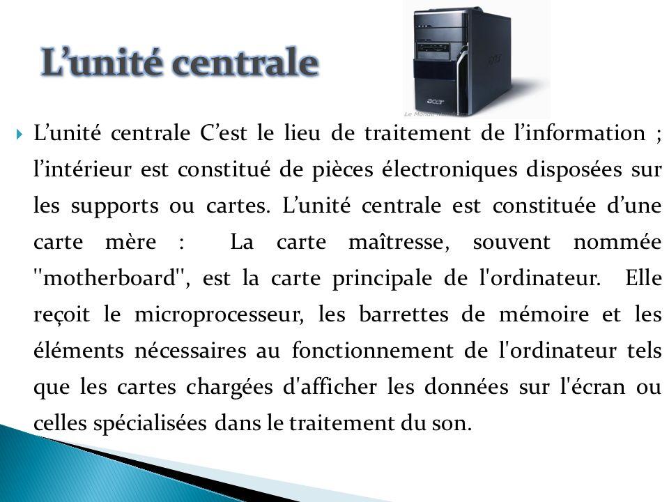 architecture mat rielle d un ordinateur ppt video online t l charger. Black Bedroom Furniture Sets. Home Design Ideas