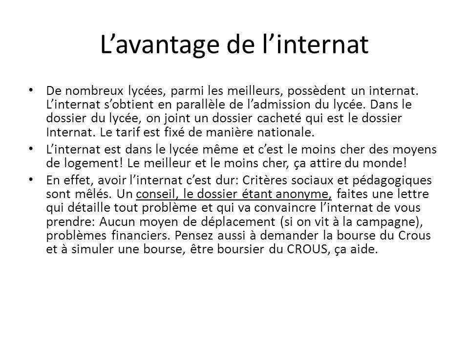 Lettre De Motivation Pour Intégrer Un Internat Lycée