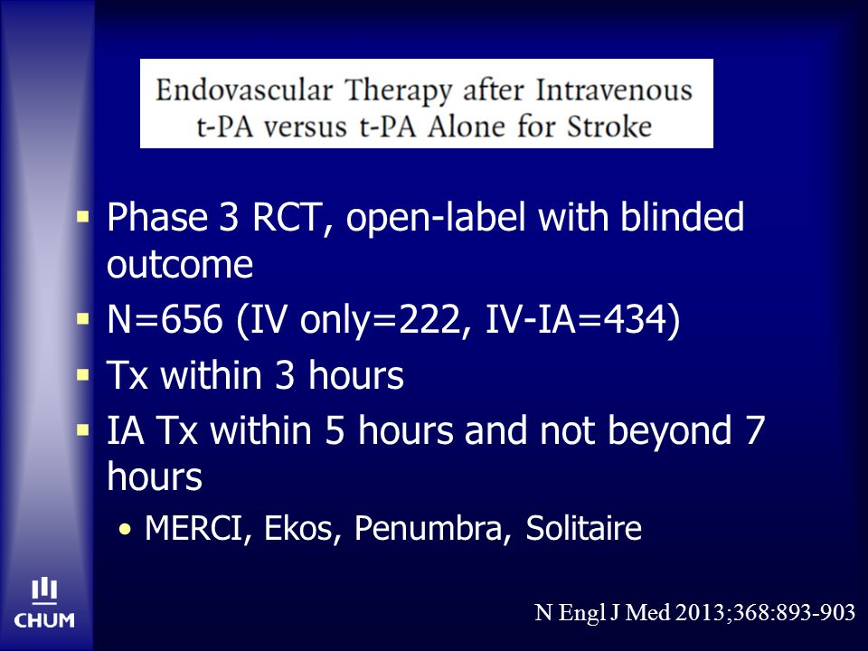 Phase 3 RCT, open-label with blinded outcome