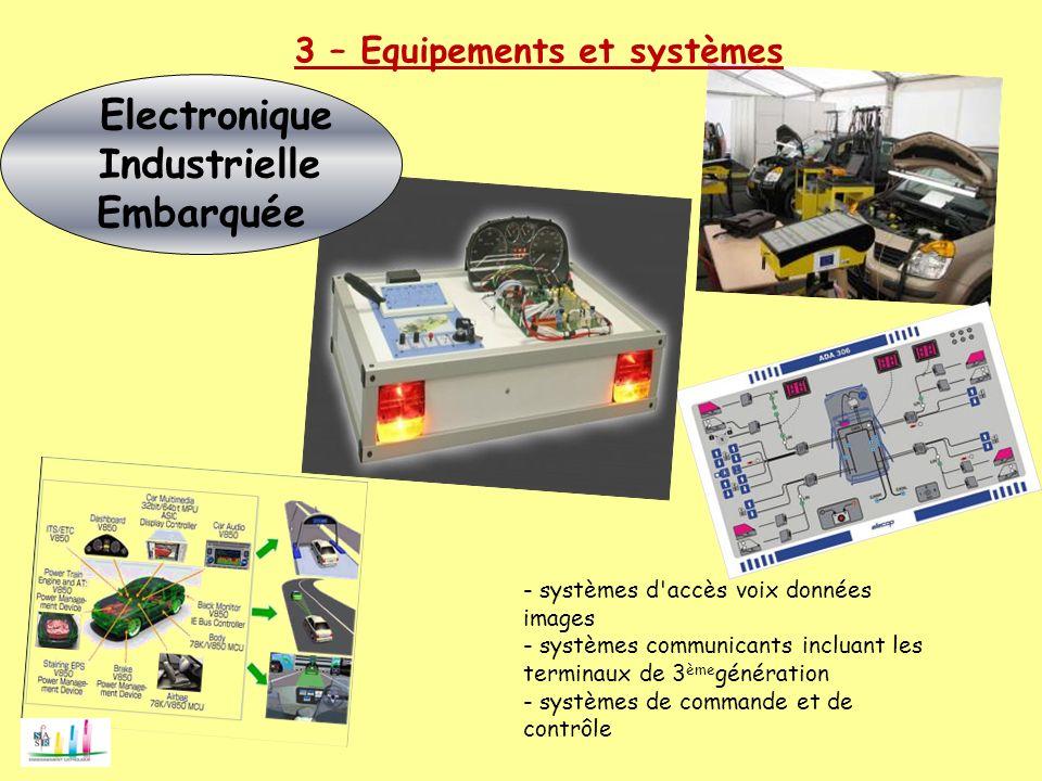 électronique industriel embarque