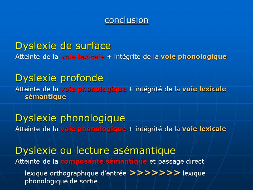 Dyslexie phonologique