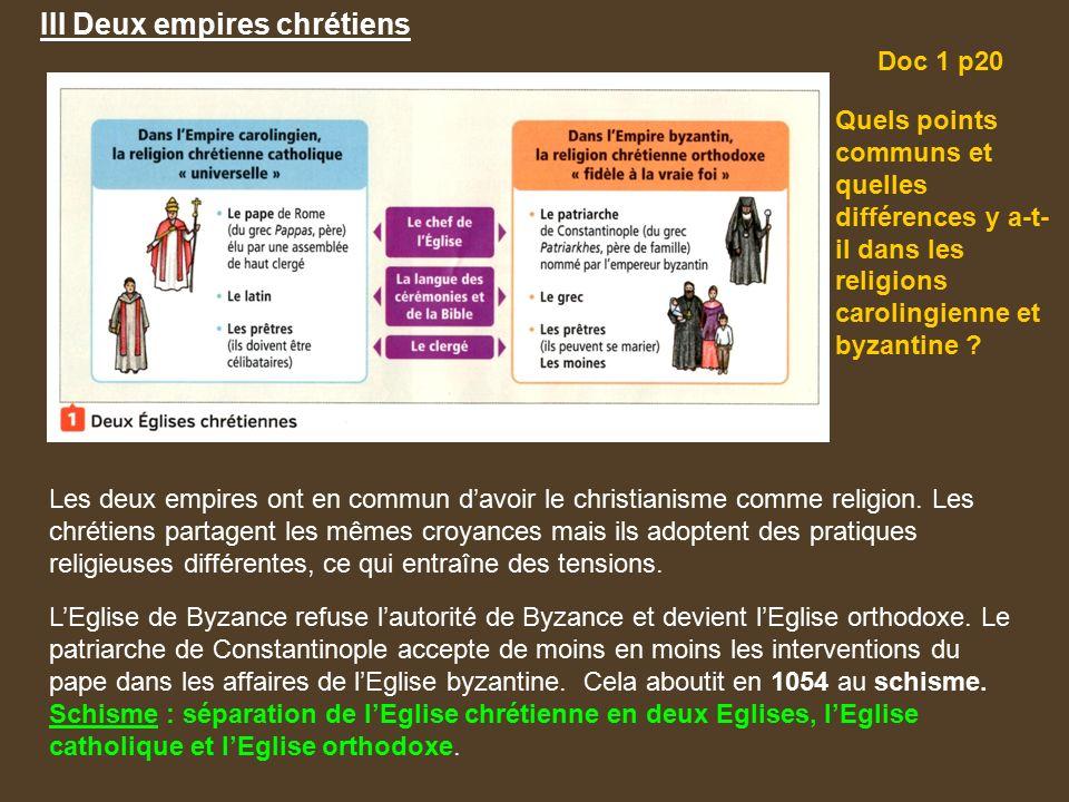 religion empire carolingien