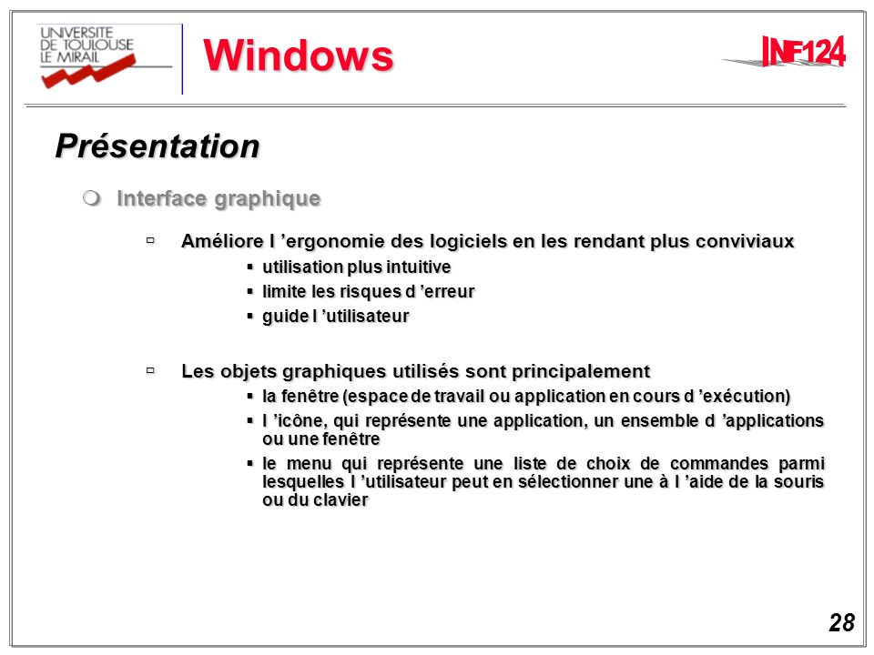 Windows Présentation Interface graphique