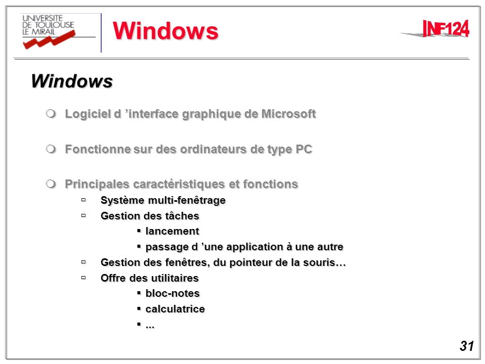 Windows Windows Logiciel d 'interface graphique de Microsoft