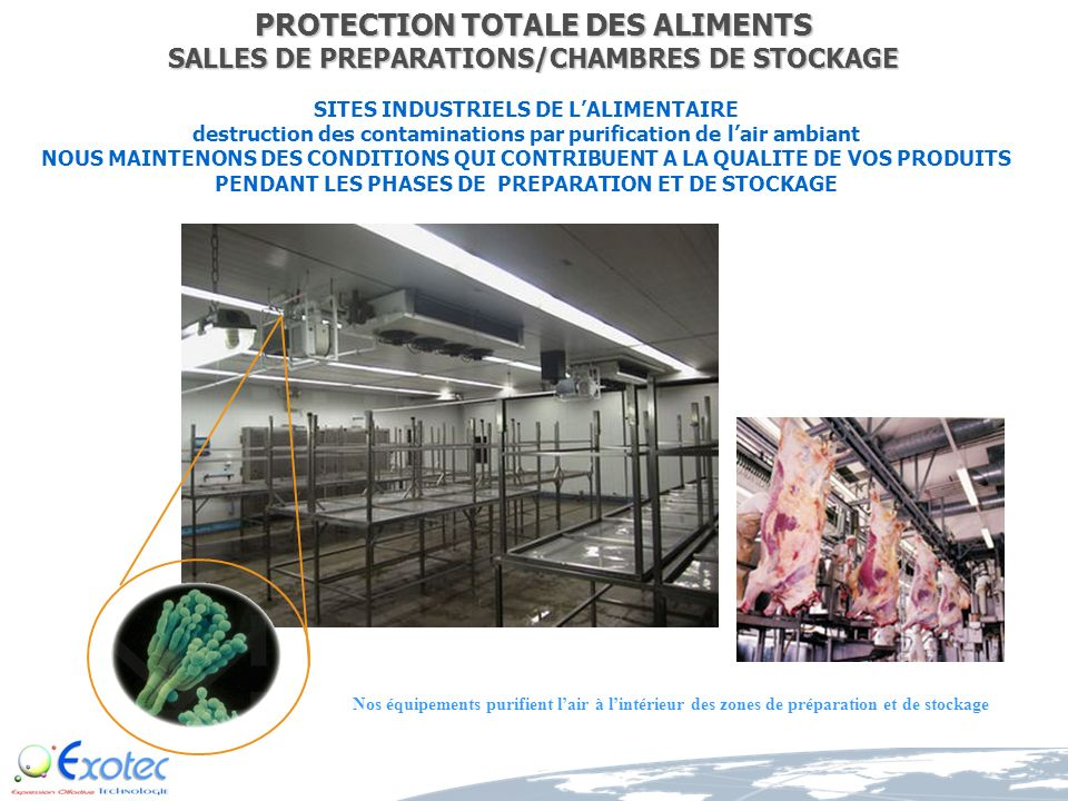 PROTECTION TOTALE DES ALIMENTS