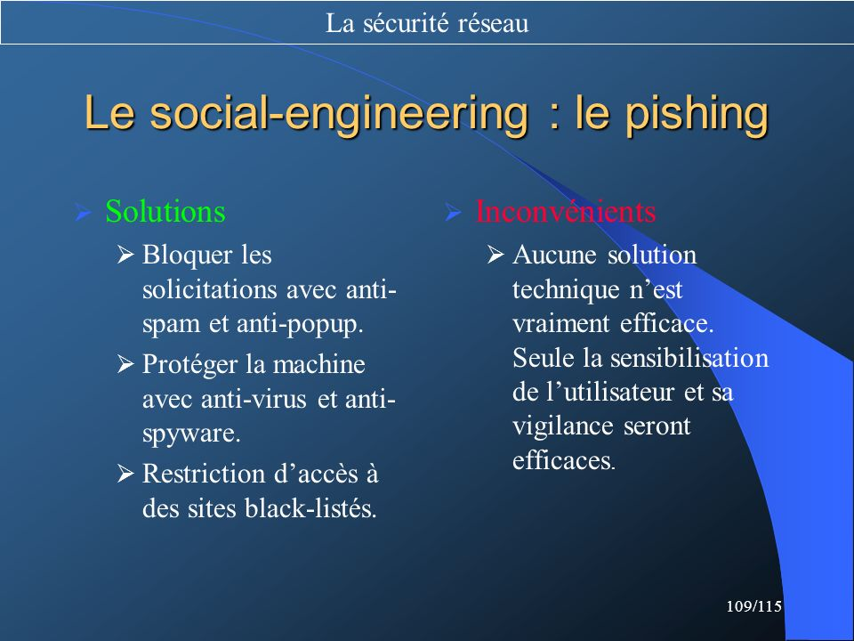 Le social-engineering : le pishing
