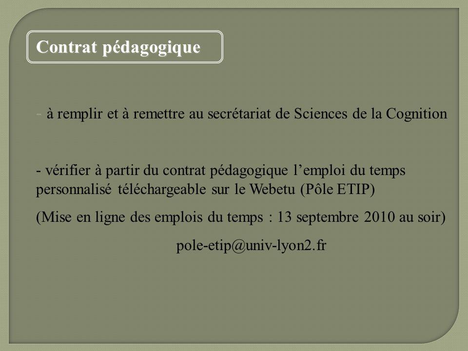 Licence Sciences De La Cognition Ppt Video Online Télécharger