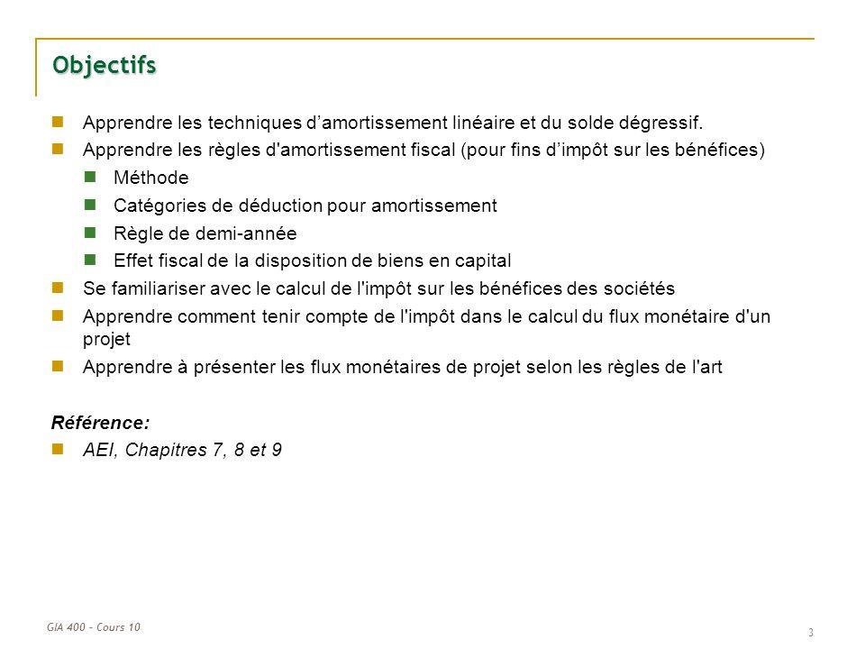 Cours 11 L Analyse De Rentabilite De Projets Apres Impots Ppt