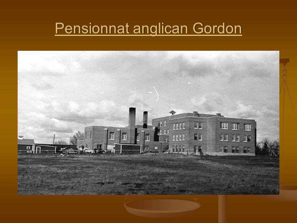 Pensionnat anglican Gordon