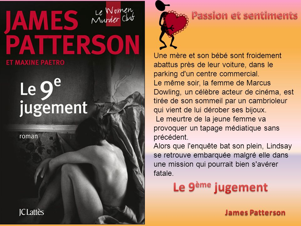 Le 9ème jugement Passion et sentiments James Patterson
