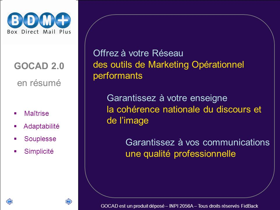 des outils de Marketing Opérationnel performants GOCAD 2.0 en résumé