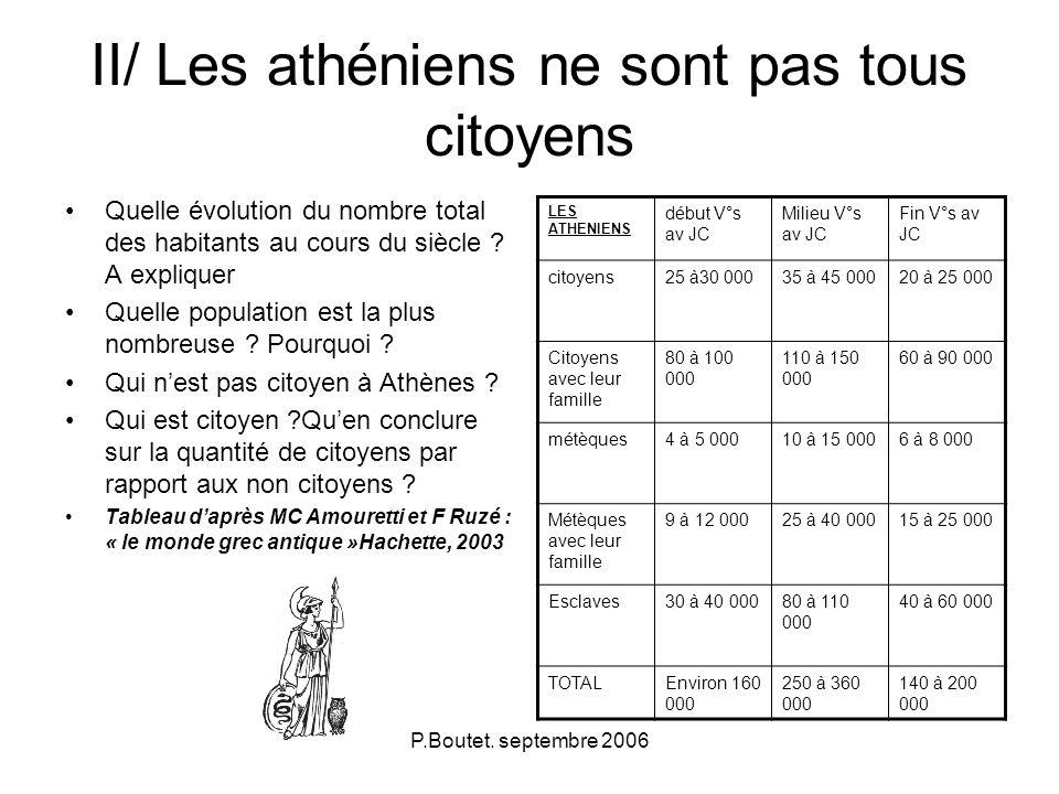 citoyen a athènes