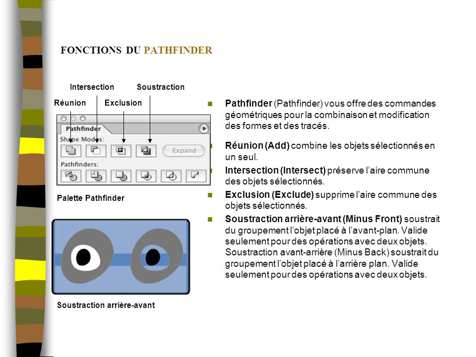 FONCTIONS DU PATHFINDER