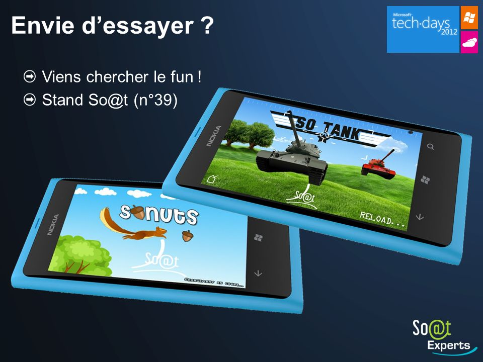 Envie d'essayer Viens chercher le fun ! Stand So@t (n°39)