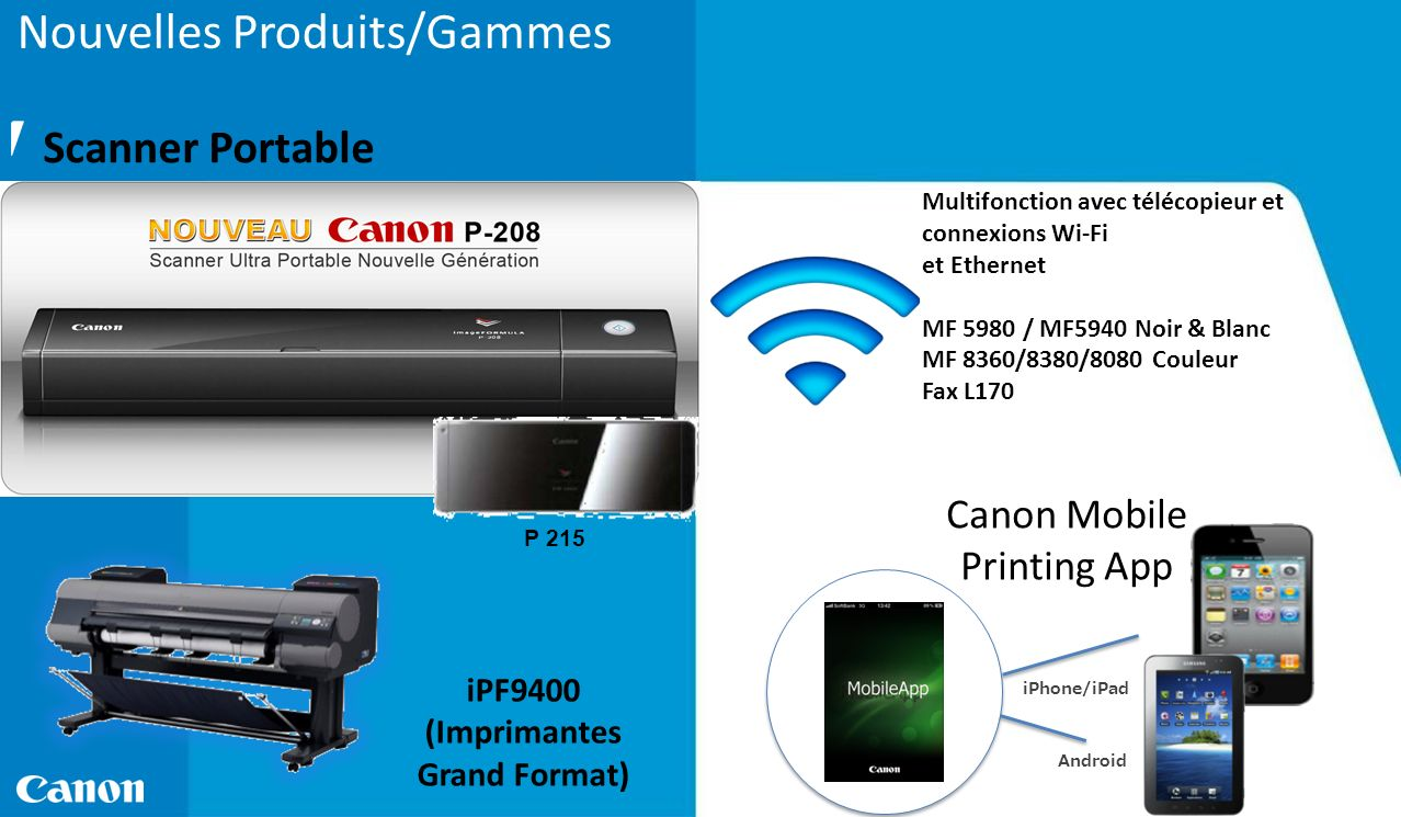 Canon Mobile Printing App