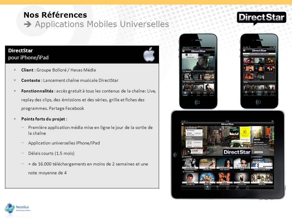  Applications Mobiles Universelles
