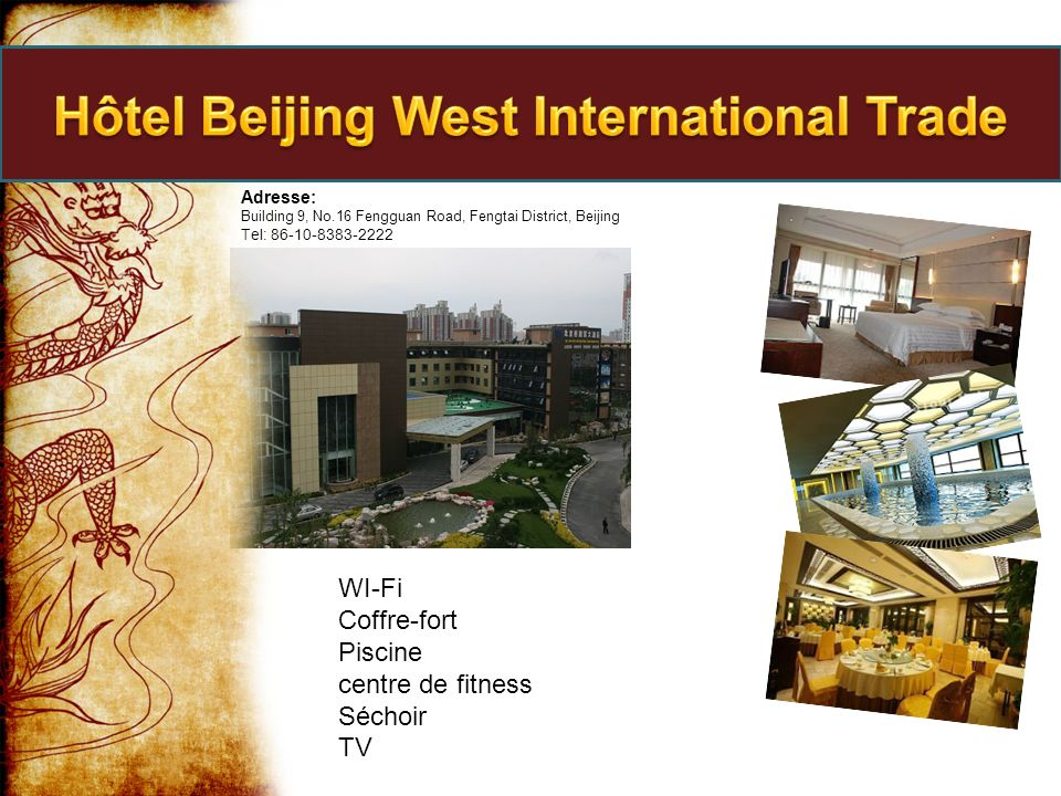 Hôtel Beijing West International Trade