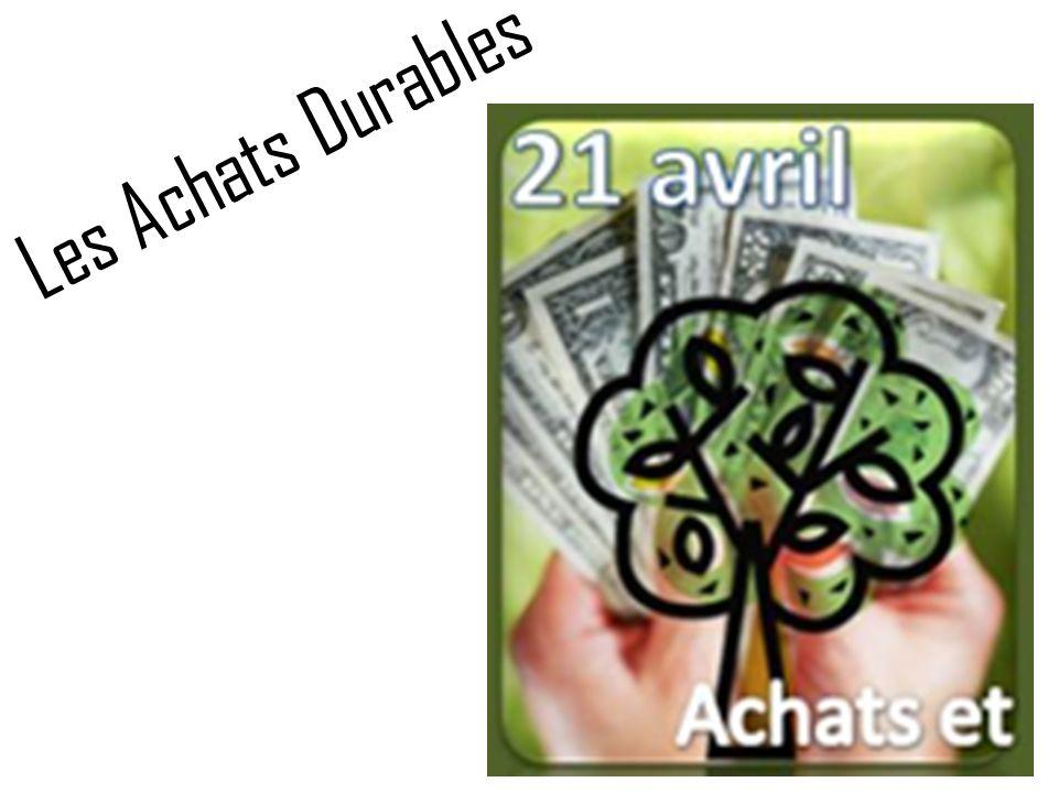 6917de8e0cb5f Les Achats Durables. - ppt video online télécharger