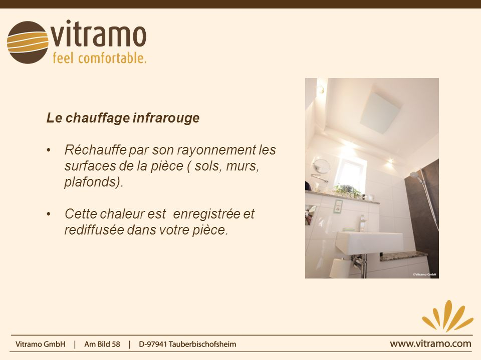 Le chauffage infrarouge