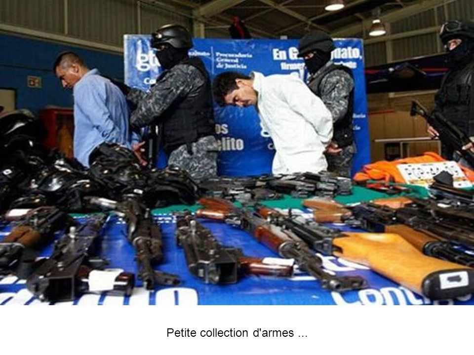 Petite collection d armes ...