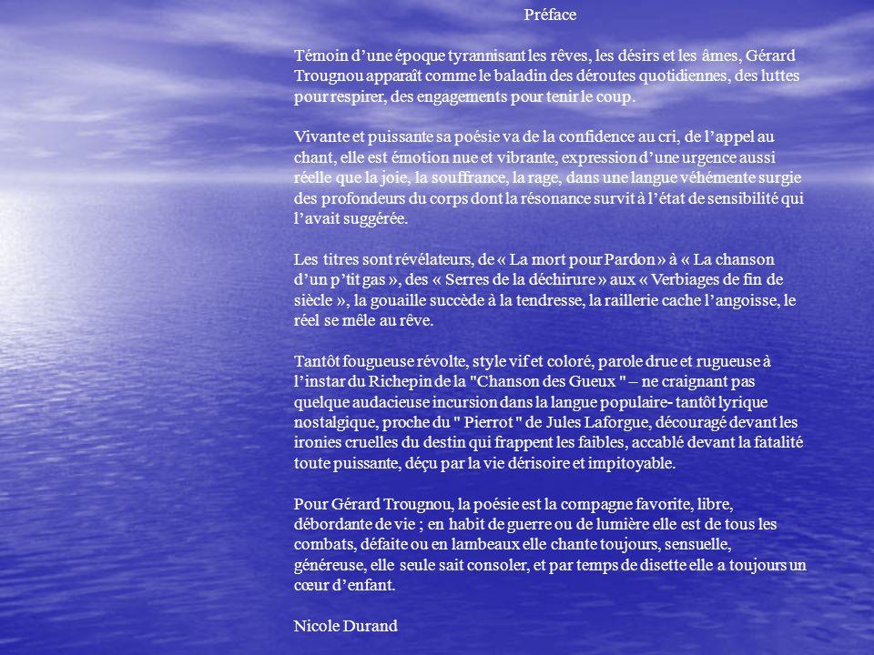 Poèmes En Vrac De Gérard Trougnou Ppt Télécharger
