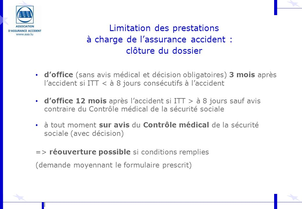 association d assurance accident ppt video online t l charger. Black Bedroom Furniture Sets. Home Design Ideas