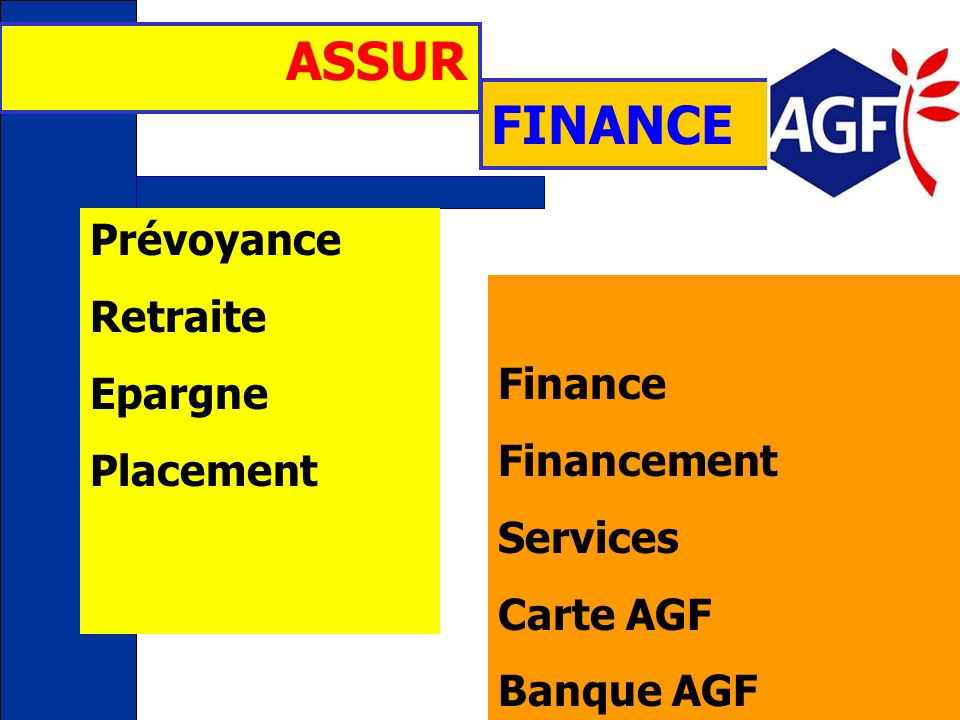 ASSUR FINANCE Prévoyance Retraite Epargne Finance Placement