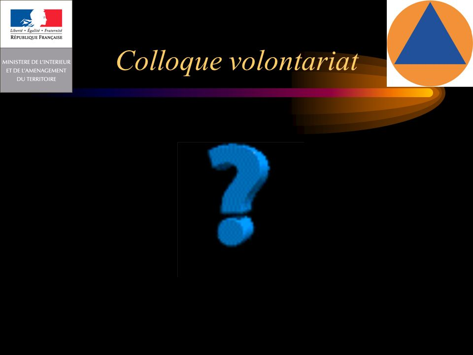 Colloque volontariat