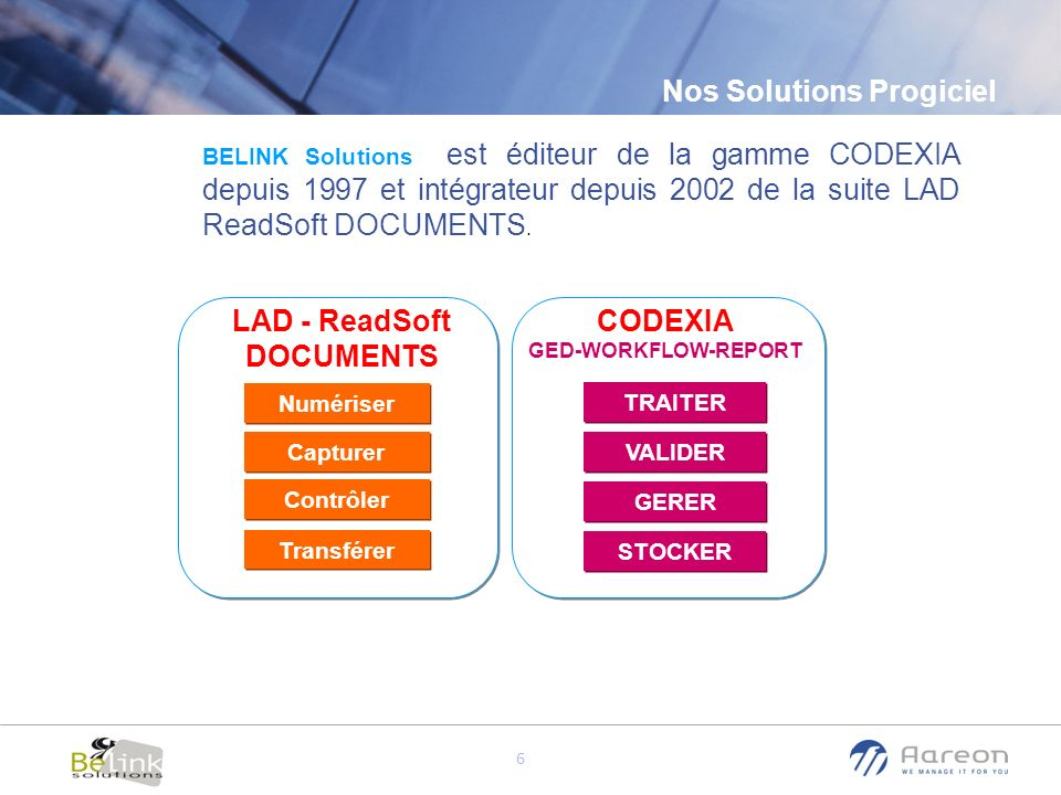 LAD - ReadSoft DOCUMENTS CODEXIA GED-WORKFLOW-REPORT