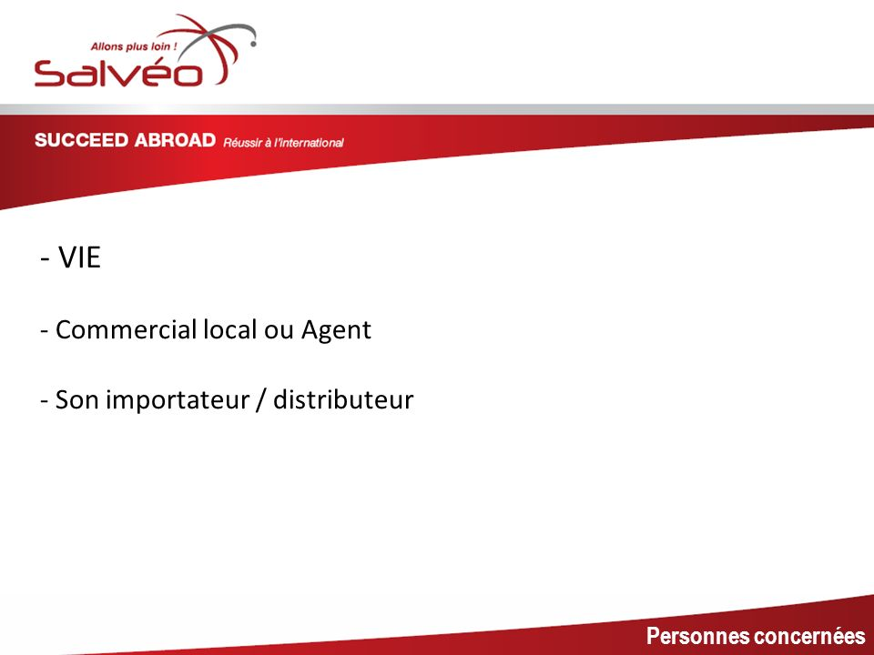 MISSION SECTORIELLE - VIE - Commercial local ou Agent