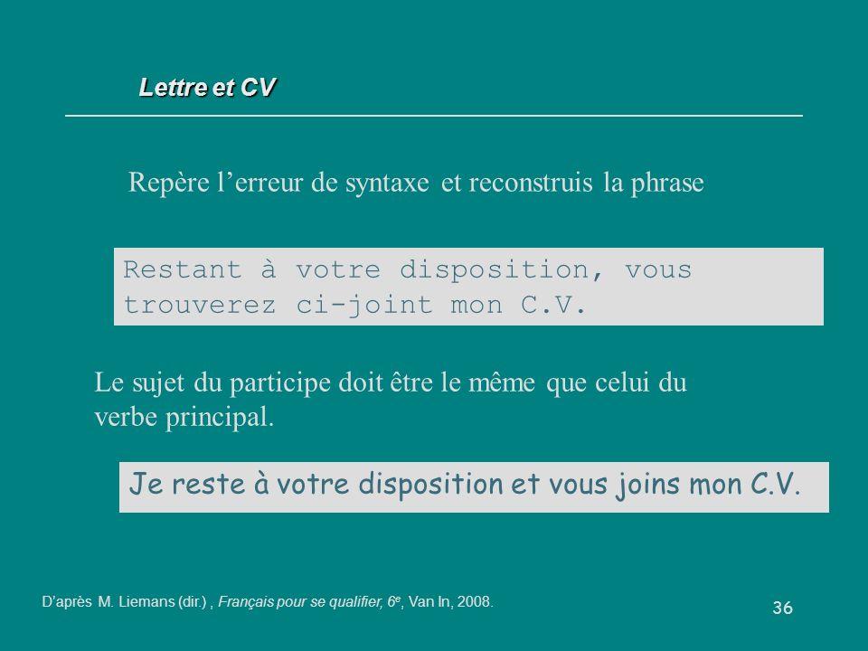 Correspondance Et Du Cv Ppt Video Online Telecharger