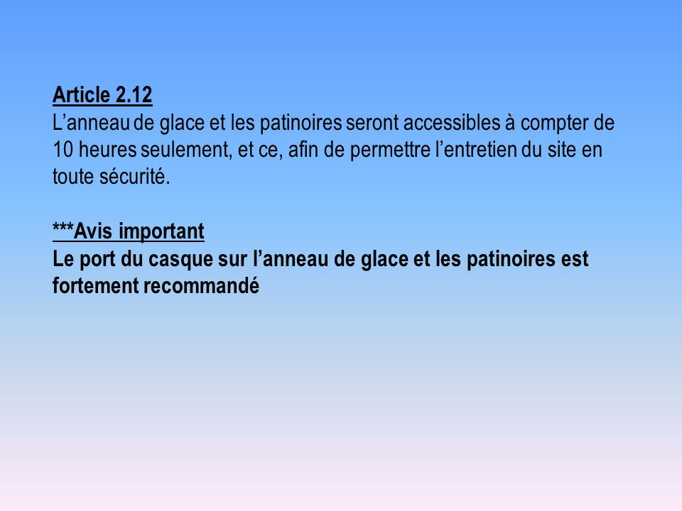 Article 2.12