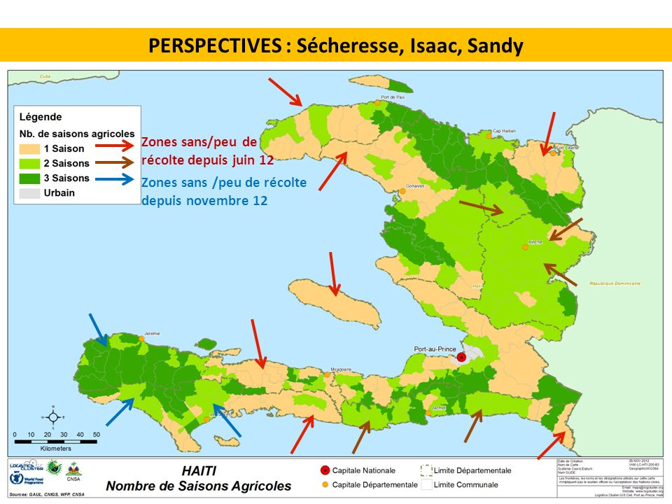 PERSPECTIVES : Sécheresse, Isaac, Sandy