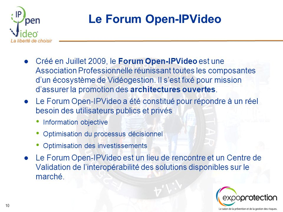 Le Forum Open-IPVideo