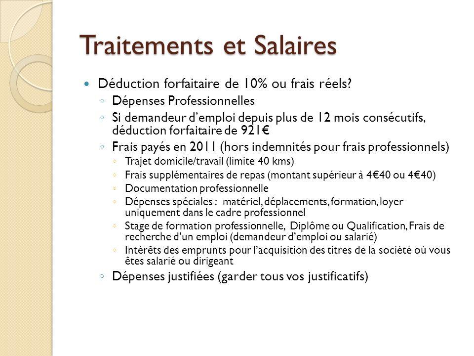 Declaration Des Revenus Ppt Telecharger